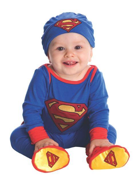 Disfraz de Superman adorable para bebé