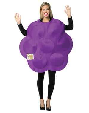 Søt lilla Candy Crush kostyme til voksen