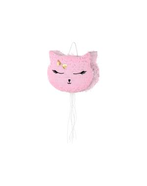 Pink Cat Piñata - мяу партия