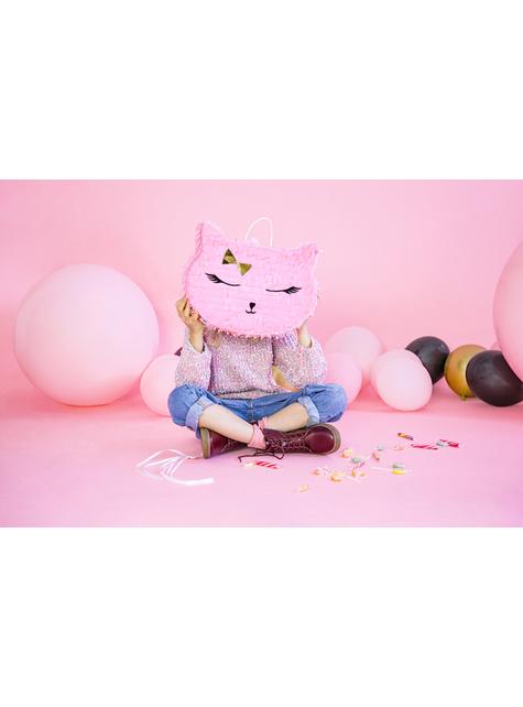 Piñata gato rosa - Meow Party