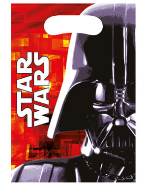 Sett med 6 Star Wars & Heroes Bagger
