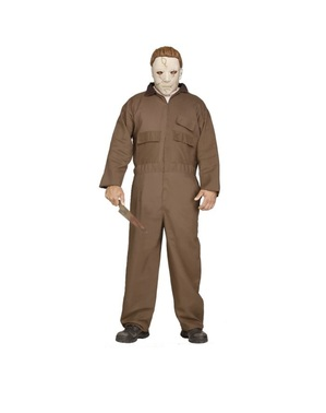 Costume Michael Myers marrone da uomo
