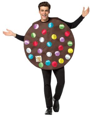 Costume da bomba colorata Candy Crush per adulto