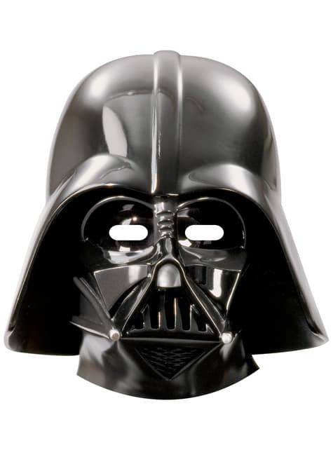Conjunto de 6 máscaras Darth Vader Star Wars & Heroes