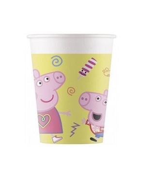 Set of 8 Pepper Pig Cups