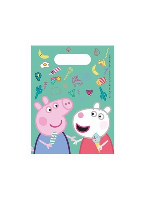Set of 4 Peppa Pig Party Bags
