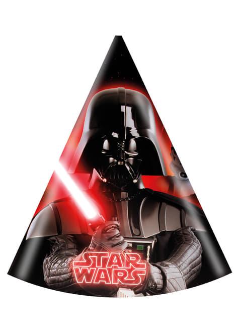 Star Wars & Heroes Hütchen Set 6 Stück