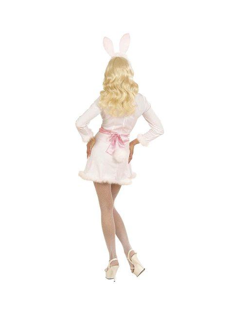 Woman's Sexy White Bunny Costume