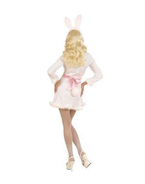 Sexy Hasen Kostüm weiß für Damen