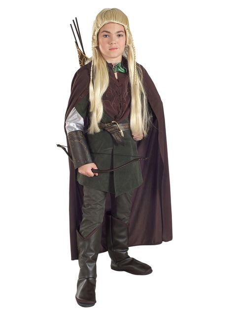 Legolas kostuum voor jongens
