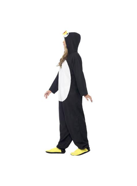 Cool Pingvin Maskeraddräkt Vuxen