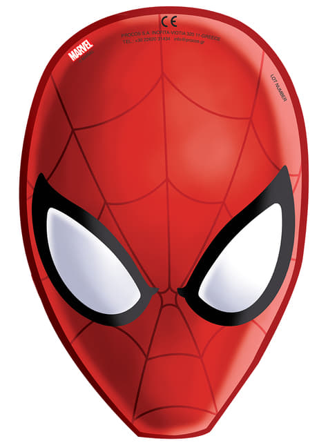 Conjunto de 6 máscaras Ultimate Spider-Man: Web Warriors
