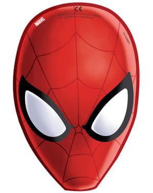 Sett med 6 Den ultimate Spider-Man Web Warriors masker