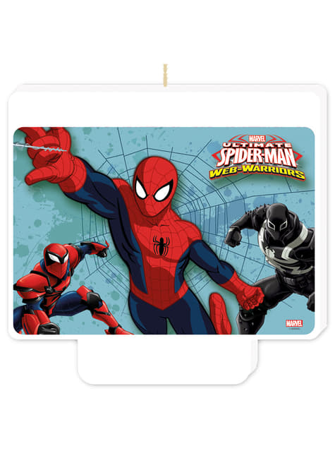 Vela Happy Birthday Ultimate Spiderman Web Warriors