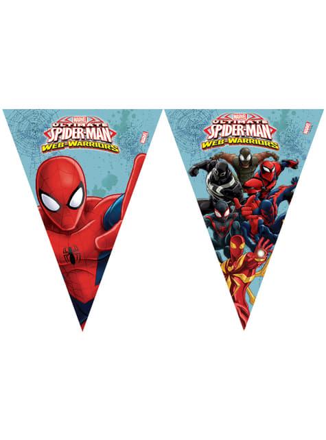 Bandeirolas Ultimate Spider-Man: Web Warriors