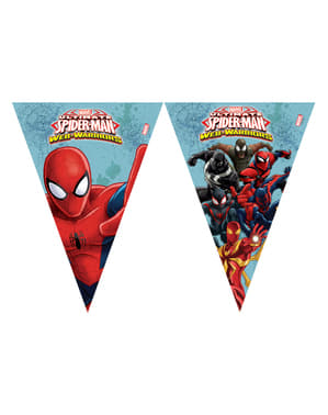 Web Warriors Ultimate Spiderman flag