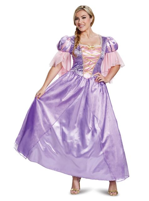 Disfraz de Rapunzel deluxe para mujer