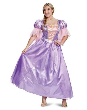 Fato de Rapunzel deluxe para mulher