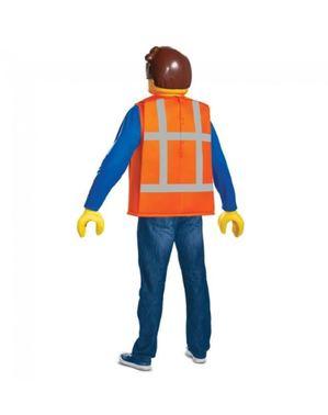Disfraz de Emmet Lego para adulto