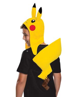 Kit disfraz de Pikachu Pokemon infantil