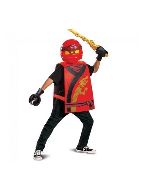 Disfraz de Kai Ninjago Lego