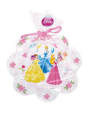 6 uitdeelzakjes Disney Princess