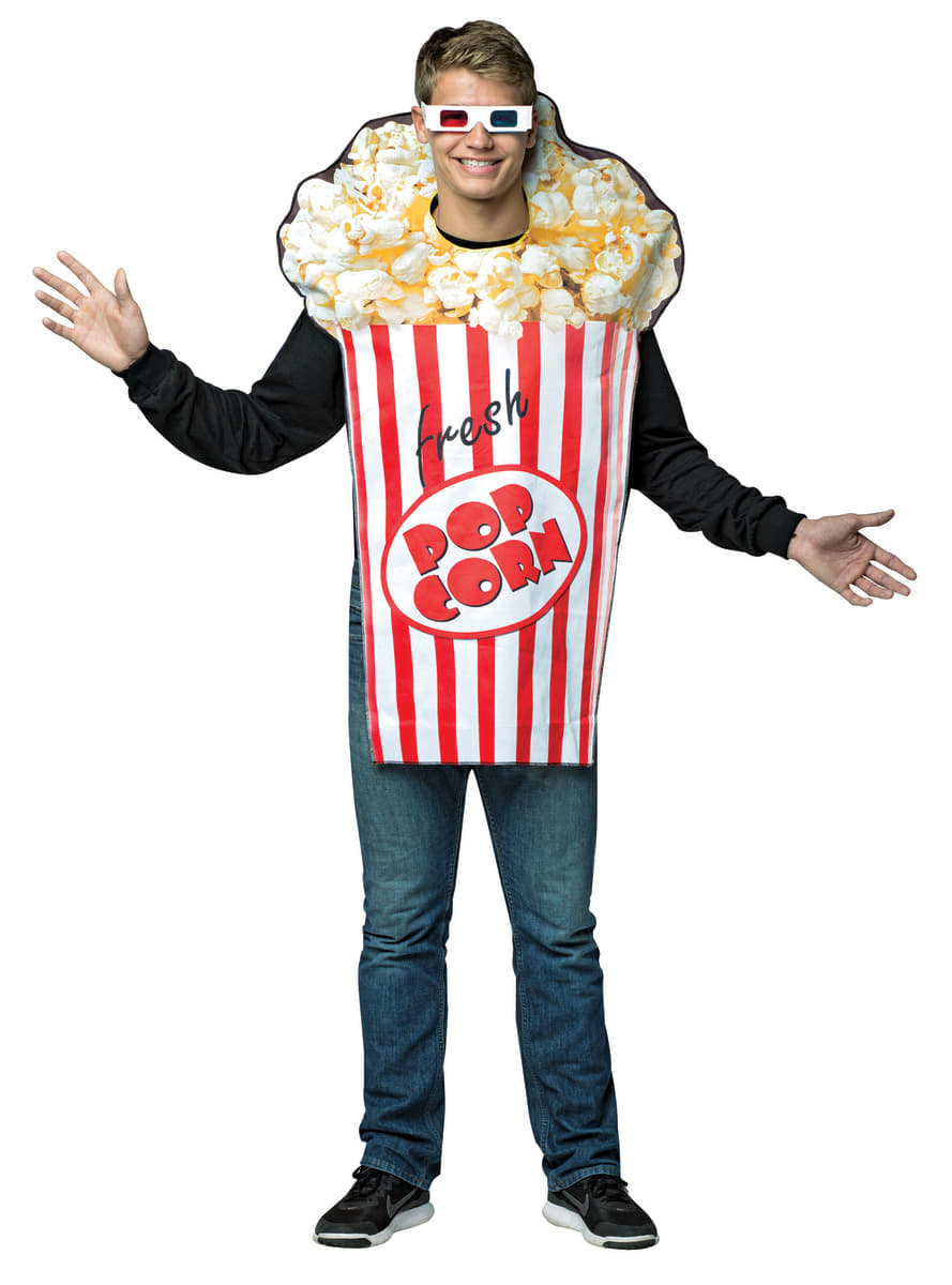 popcorn kost m f r erwachsene funidelia. Black Bedroom Furniture Sets. Home Design Ideas