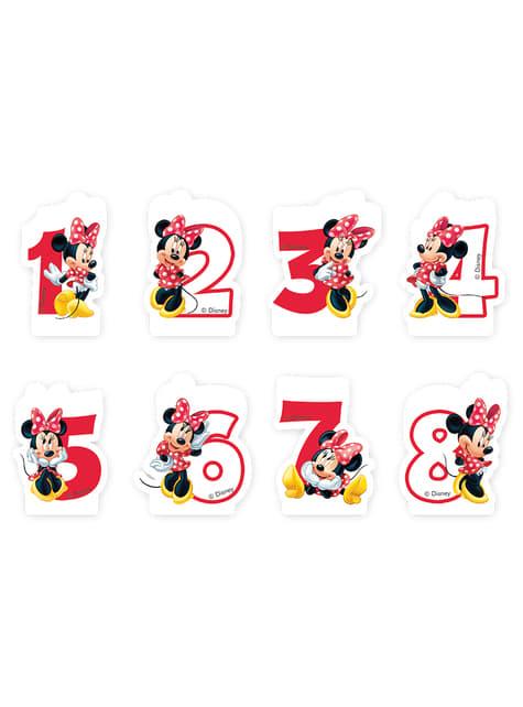Vela número 2 Disney Minnie Mouse