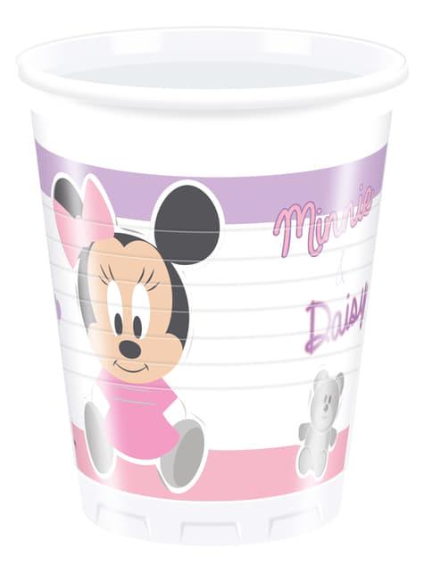 Set de 8 vasos Infant Minnie