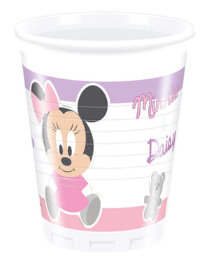 8 vasos Infant Minnie