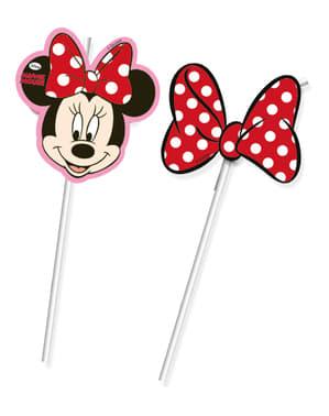 6 Minnie Cafe Straws