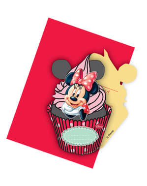 6 Minnie Cafe Invitations