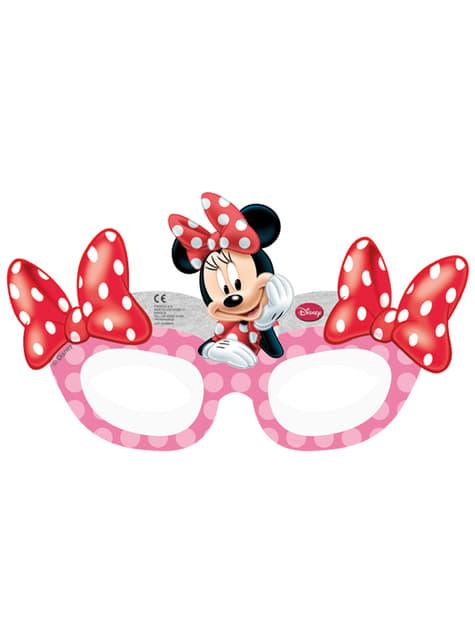 6 masques Minnie Café