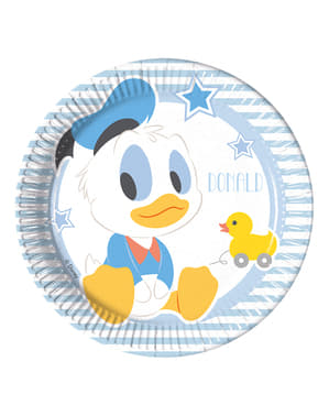 Set of 8 Infant Mickey 20cm Plates