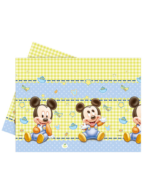 Mantel de Mickey Mouse - Baby Mickey