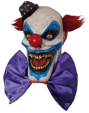 Halloweenská maska klaun Chompo