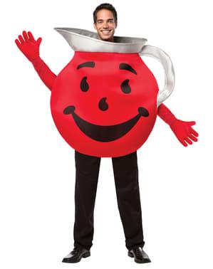 Disfraz de jarra Kool Aid para adulto