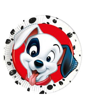 8 101 Dalmatians Plates