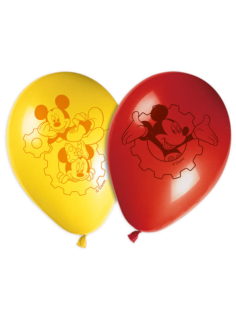 8 globos Mickey (30cm) Mickey Mouse - Clubhouse