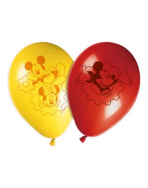 Комплект от 8 игриви Мики балони