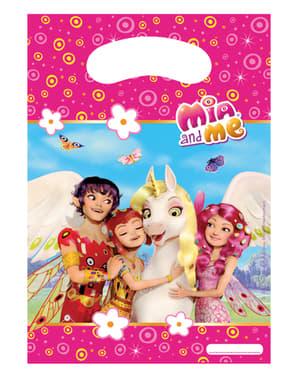 6 bolsas para chucherías Mia & Me