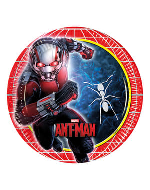 8 platos Ant Man de 23 cm