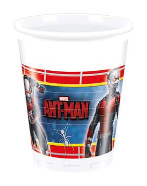 Sett med 8 Ant-Man kopper