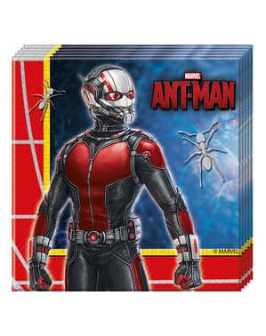 Набір з 20 Ant людина серветки