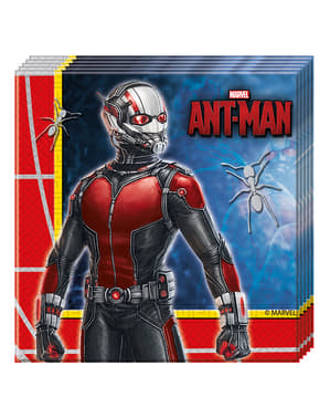 Sett med 20 Ant Man Servietter