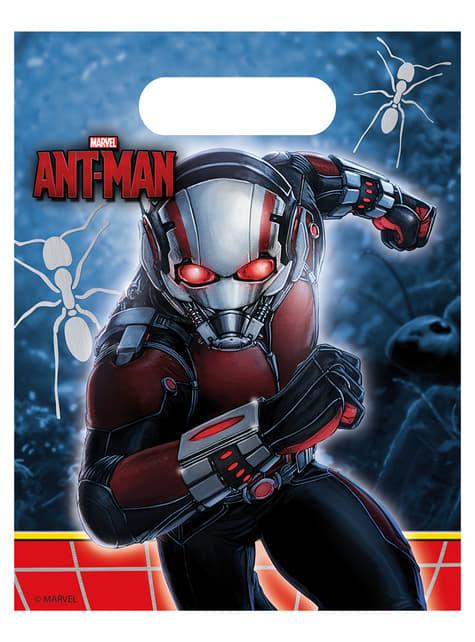 Set de 6 bolsas Ant Man