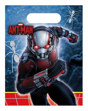 6 bolsas de chucherías Ant Man
