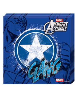 20 Serviettes en papier Avengers Teen
