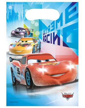 6 uitdeelzakjes Cars Ice