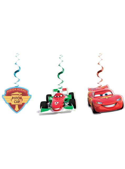 Set de decoración colgante Cars Ice